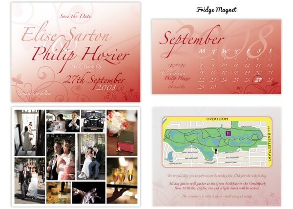 Wedding stationery - extras