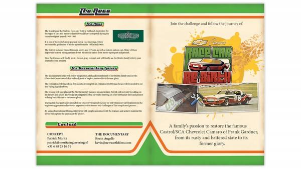 Racing Car Re-birth brochure