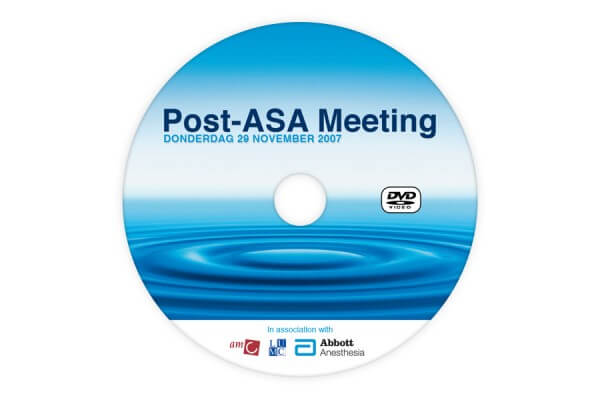 Post ASA DVD disc