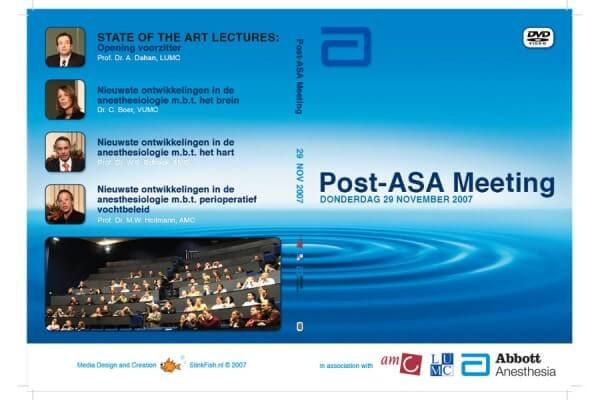 Post ASA DVD inlay