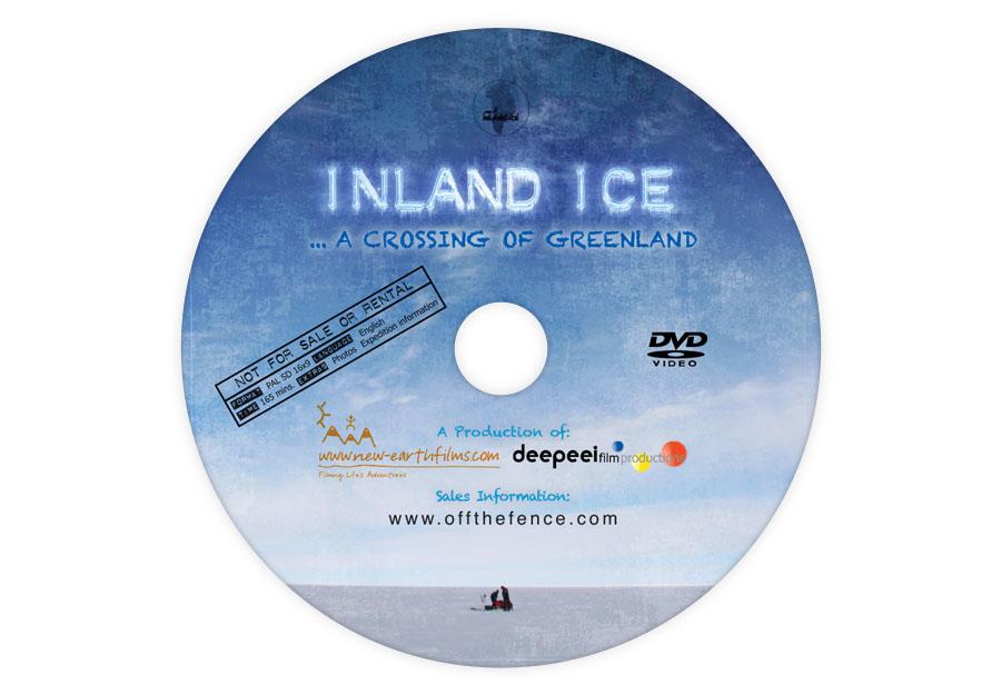 Inland Ice - DVD Disc