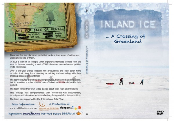 Inland Ice - DVD box cover