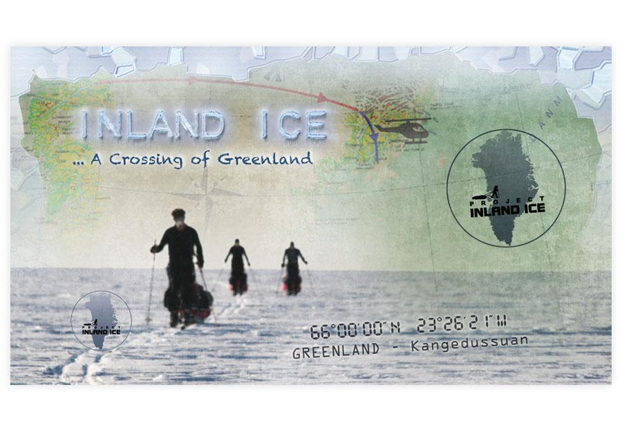 Inland Ice - DVD menu
