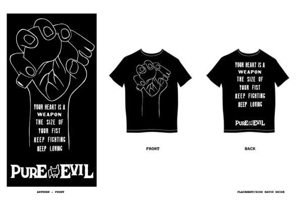 KSwiss - Pure Evil - Tshirt