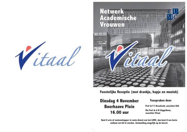 Vitaal - Netwerk Academische Vrouwen LUMC