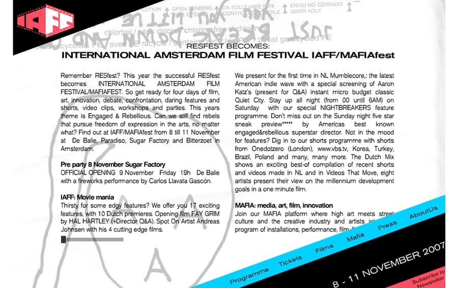 mafiafest website