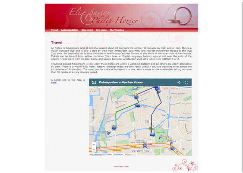 wedding website 4